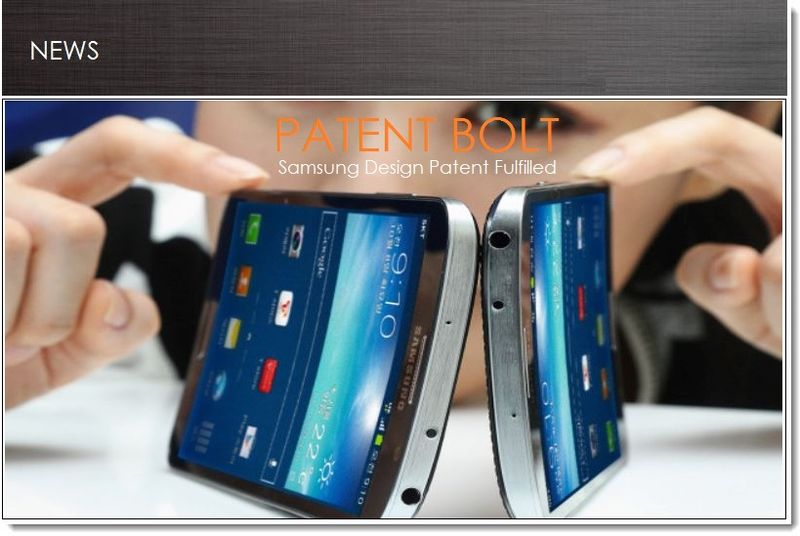 COVER - SAMSUNG DESIGN PATENT FULFILLED
