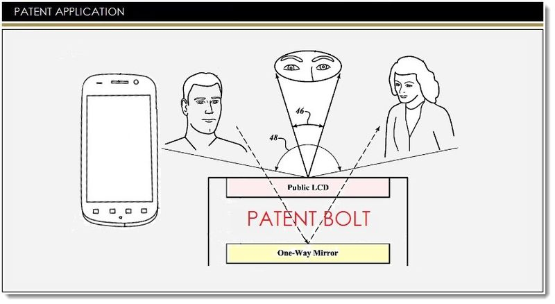 1. Google seeks patent for privacy display