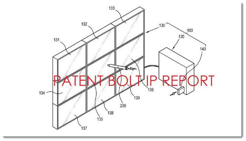 2A. Samsung e-chalkboard patent illustration