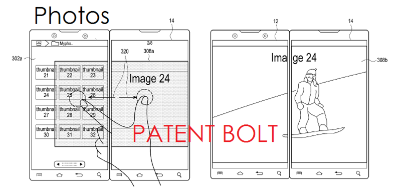 9. Samsung dual display patent Dec 2013 - PHOTOS APP
