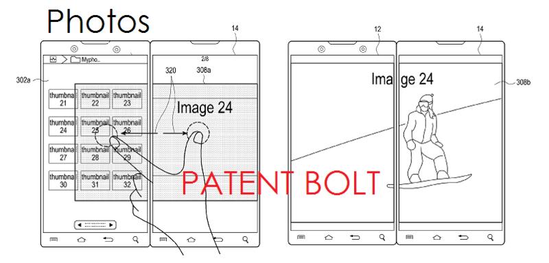 9. Samsung dual display patent Dec 2013 - PHOTOS APP