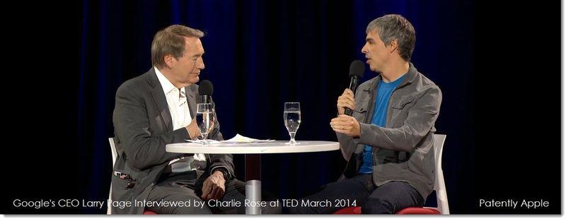 8a. Extra - Larry Page - TED March 2014 - Interviewed by Charlie Rose