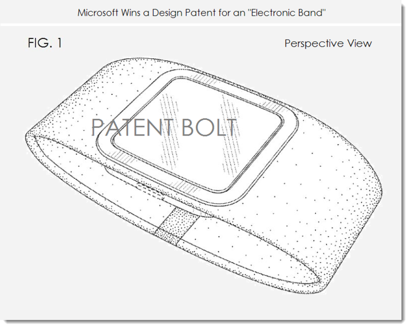 6. MSFT ELECTRONIC BAND DESIGN PATENT WIN MAR 25, 2014