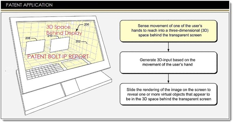1. Cover - Msft Patent for interactive 3D transparent display system