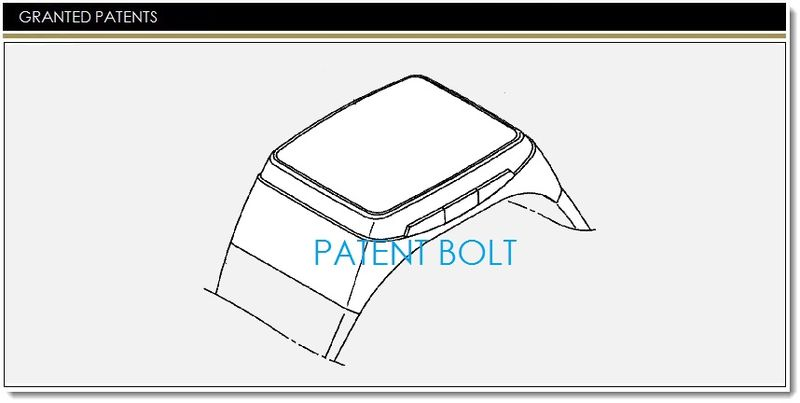 1. LG GRANTED SMARTWATCH PATENT - COVER GRAPHIC