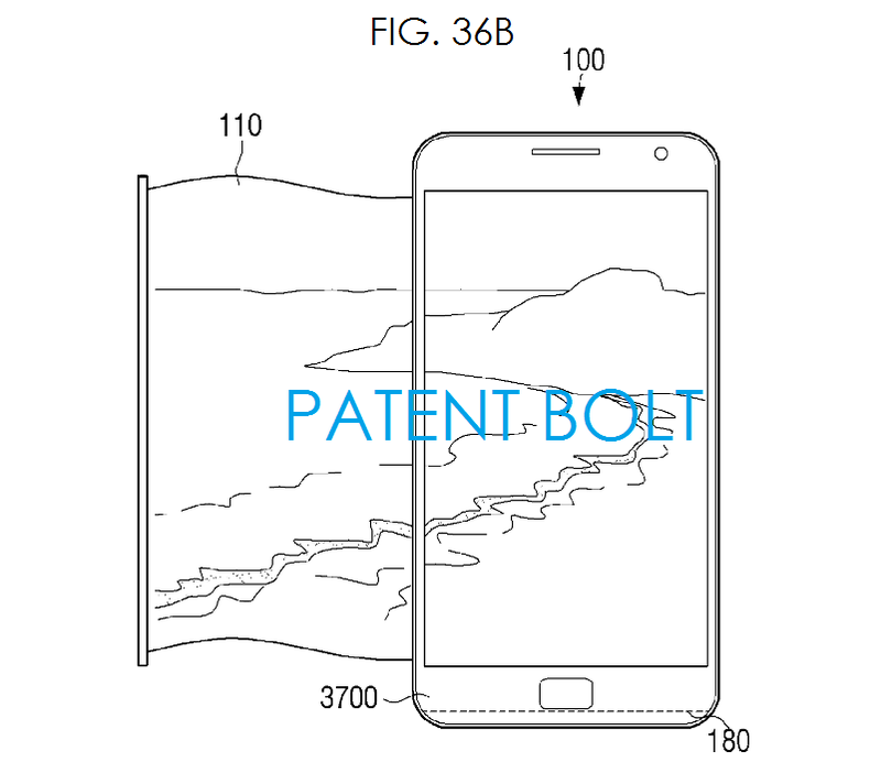 3. Samsung scrollable display fitted to a modern Galaxy-like form factor