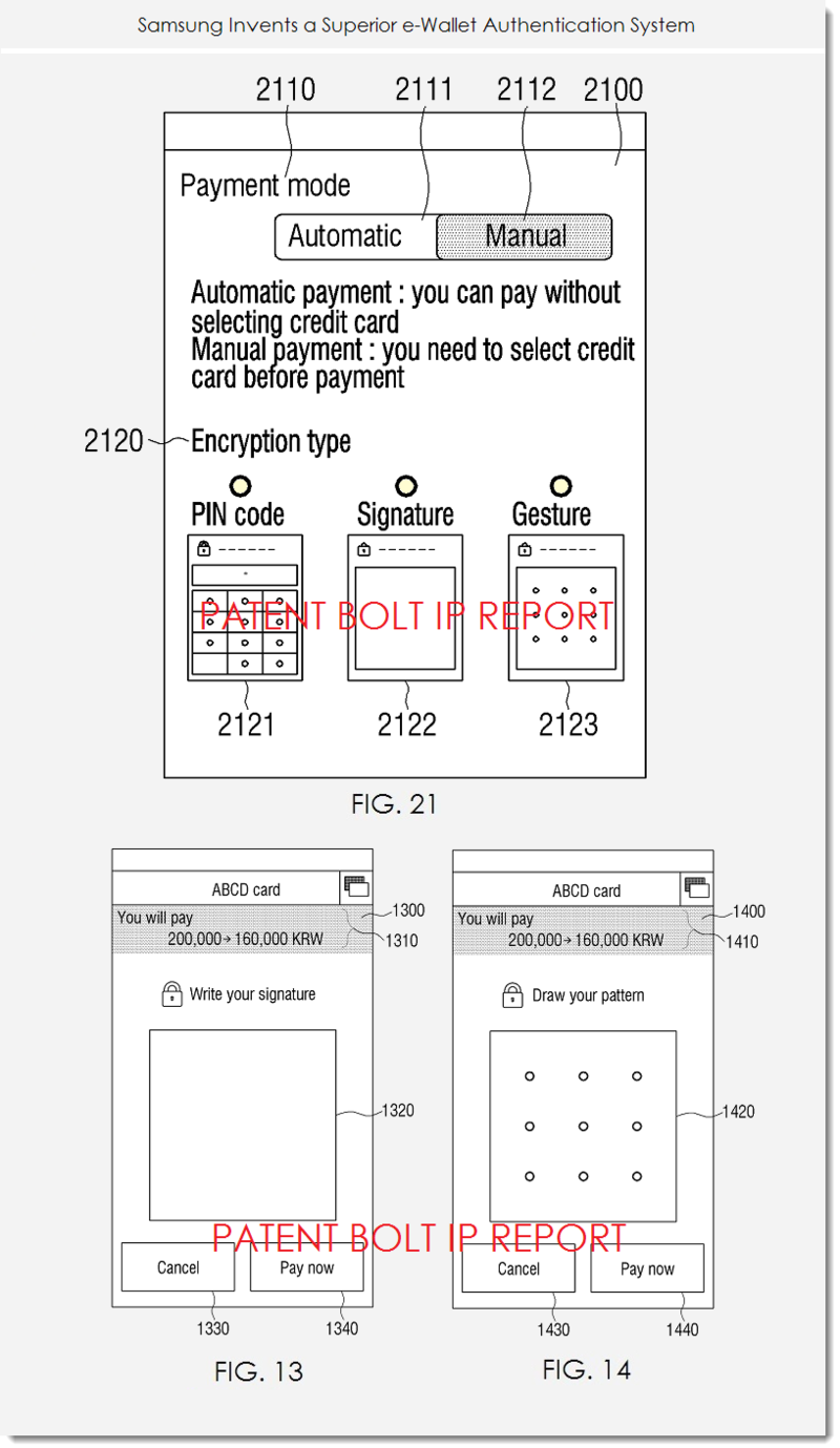 2A. SAMSUNG PATENT FIGS 21, 13 & 14