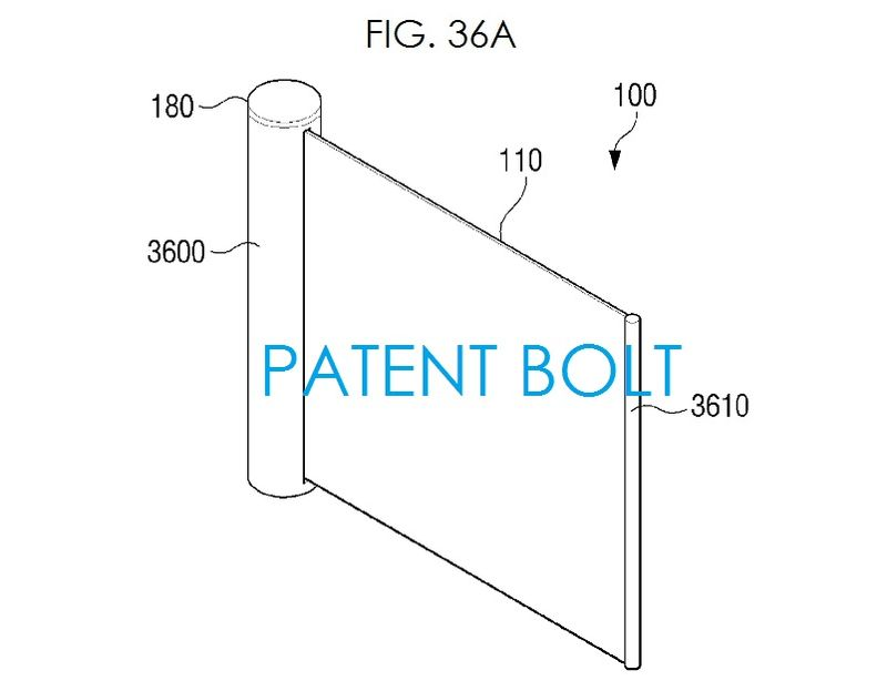 2. Scrollable Samsung Display