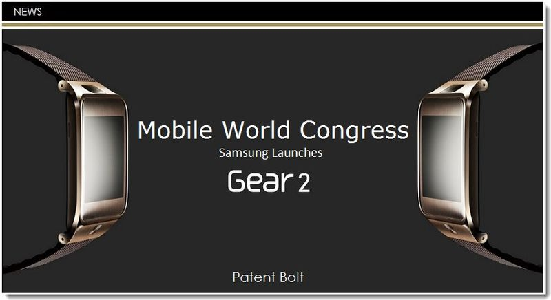 1. Samsung launches Gear 2 Smartwatch