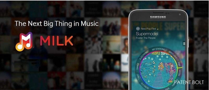 1PB. Milk Music, Samsung music streaming service