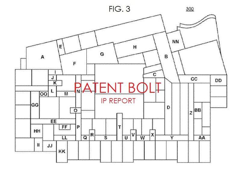 4. Google indoor map patent fig. 3