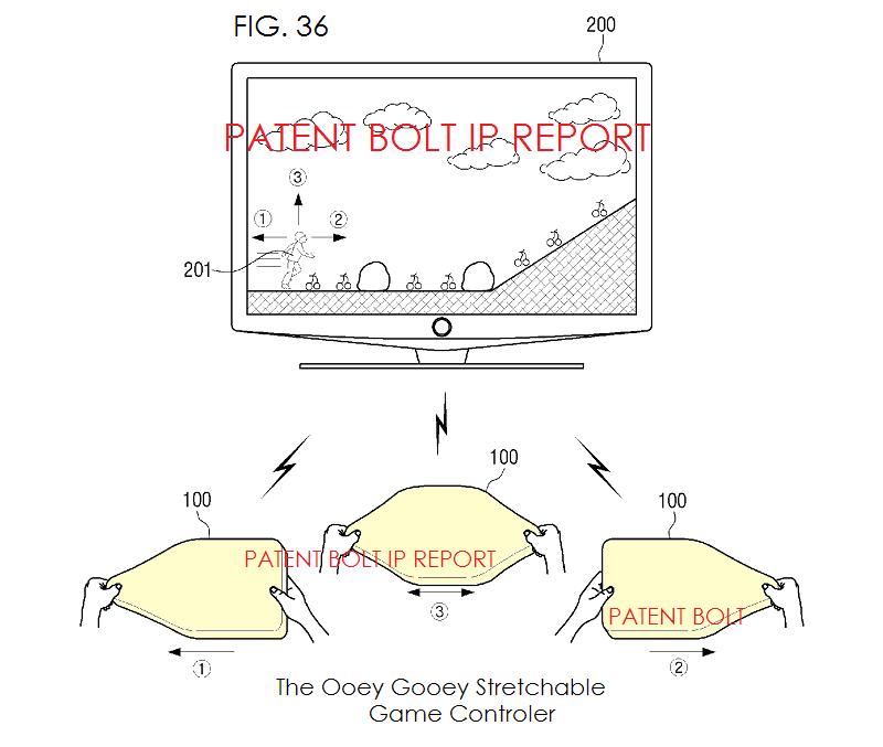 4. Samsung fig. 36 ooey gooey game controller fig. 36