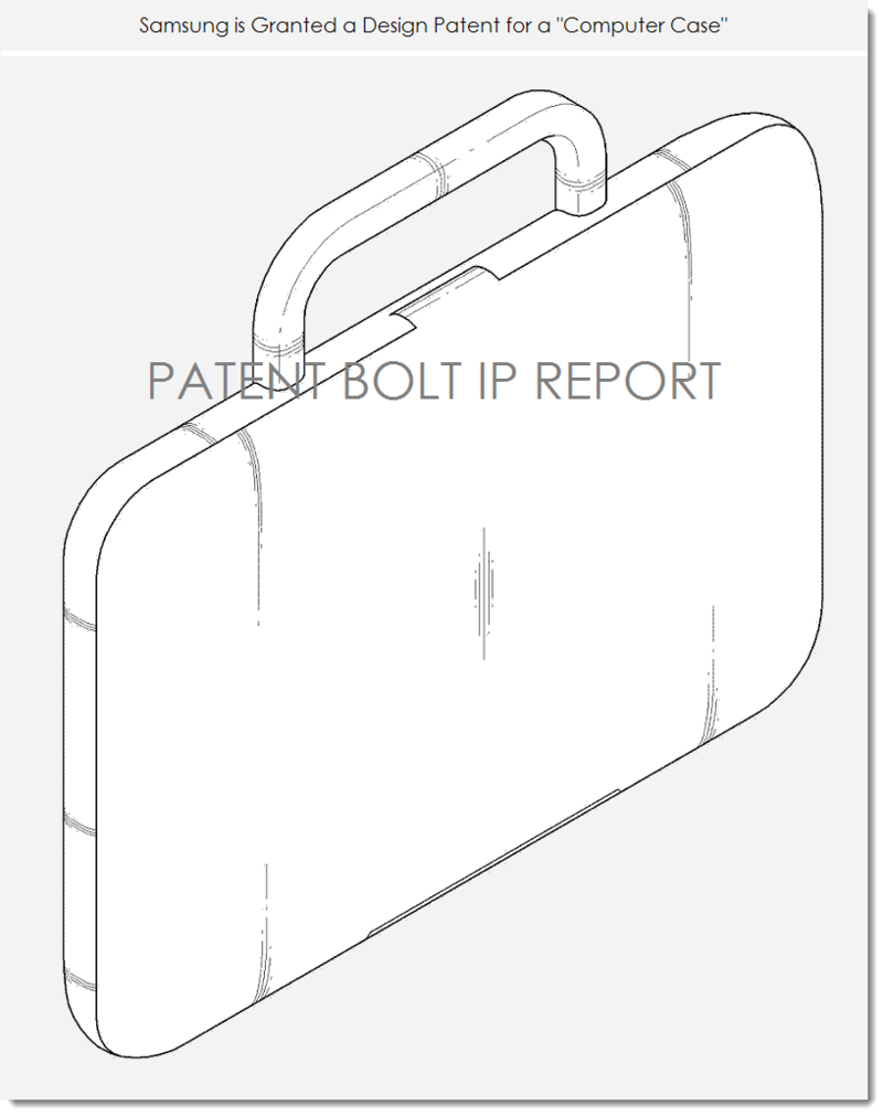 2. Samsung wins design patent for computer case fig. 1