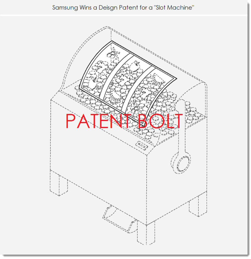 7. Slot Machine Samsung style - design patent fig. 8