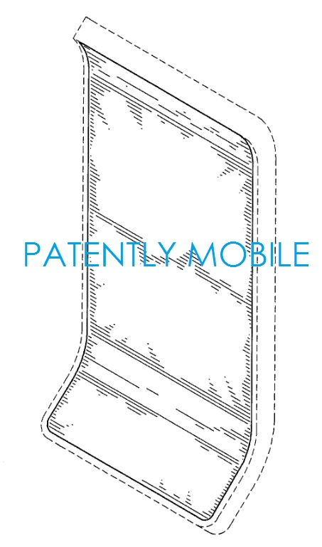 6AF - SLIGHT CURVE TOP, LARGER CURVE BOTTOM SAMSUNG GRANTED DESIGN PATENT