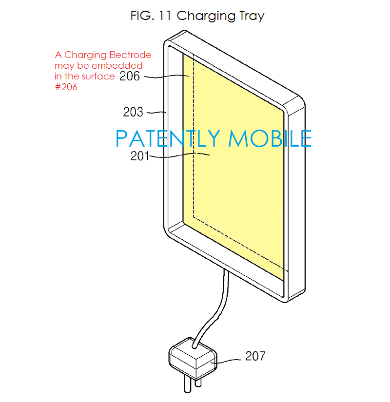 4AF - SAMSUNG CHARGING TRAY FOR HOME AND OFFICE. fig. 11 samsung