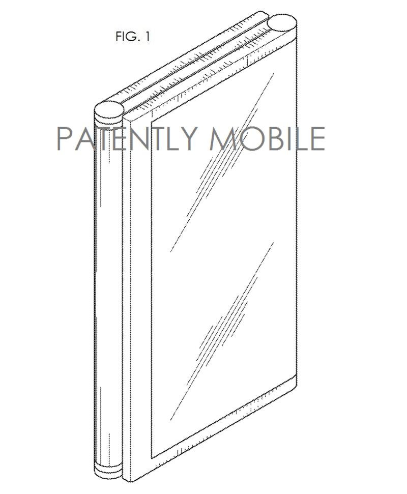 2AF - tri-fold Samsung smartphone design patent