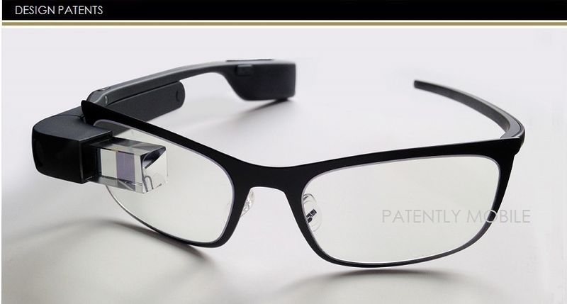 1AF - COVER - GOOGLE GLASS DESIGN PATENTS, GRANTED