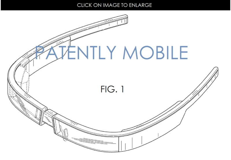 2AF2 GOOGLE GLASS NEW DESIGN GRANTED FIG. 1