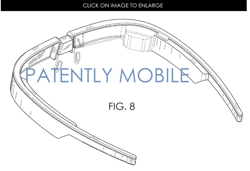 3AF2 2 GOOGLE GLASS, NEW TRADITIONAL DESIGN PATENT GRANTED FIG. 1