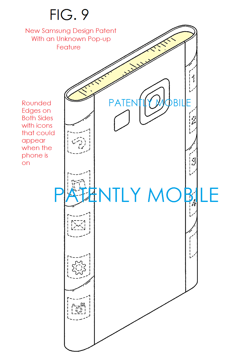 3F2 - 5aa - FIG. 9 SAMSUNG DESIGN PATENT Jan 2015