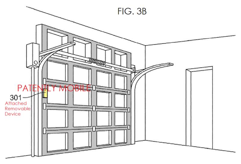 2AF2 -  GARAGE DOOR OPENER, HOME AUTOMATION - GOOGLE FIG 3B - PATENTLY MOBILE