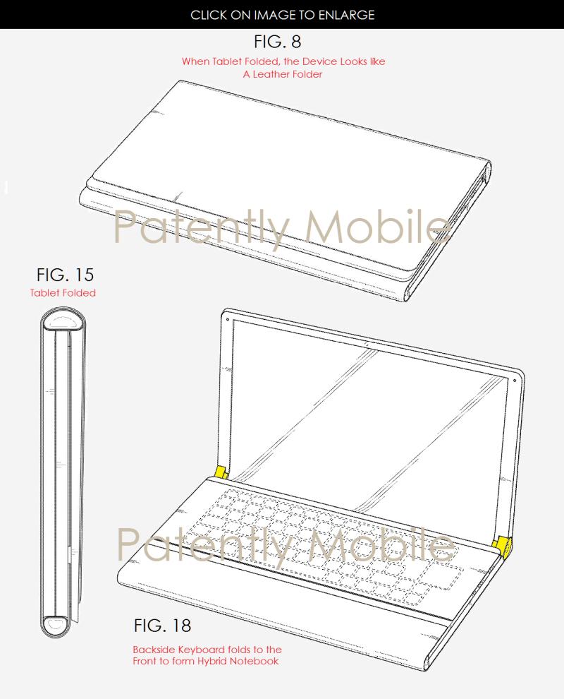 3AF 99X samsung folded tablet - hybrid notebook