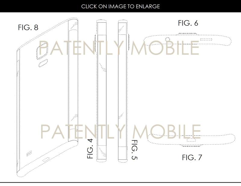 6AF X99 SAMSUNG DESIGN PATENT #2 LINE-ART