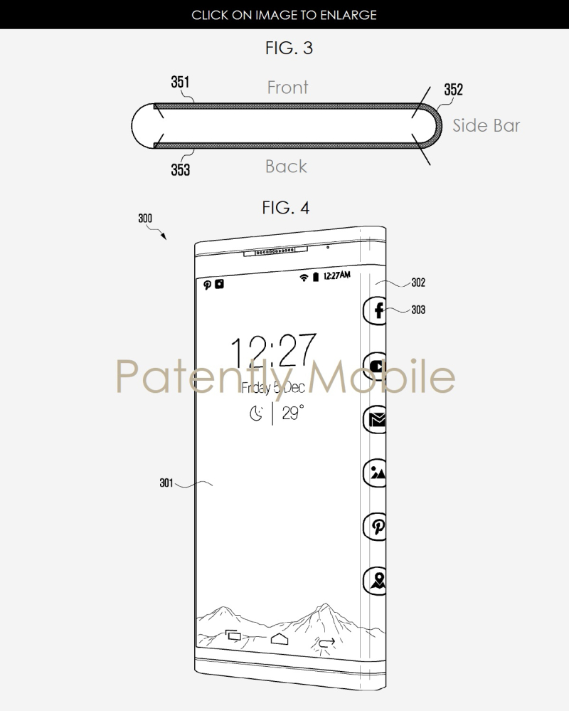 2AFX 99 SAMSUNG SMARTPHONE FIG. 3  4 WRAPAROUND DISPLAY