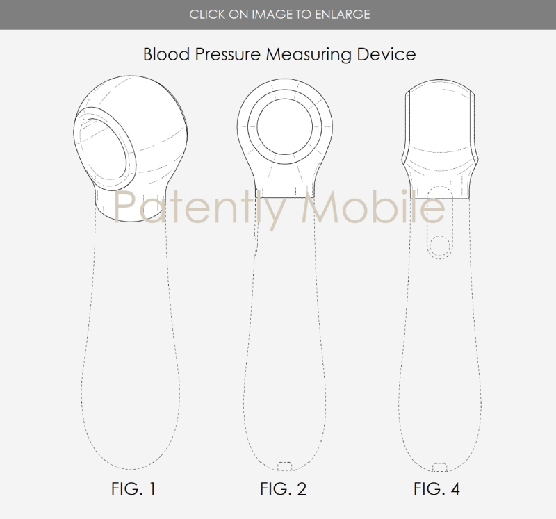4 samsung design patent for blood pressure measuring device - patently mobile
