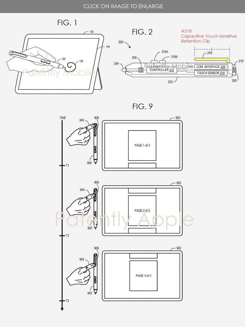 2 Microsoft Stylus patent granted