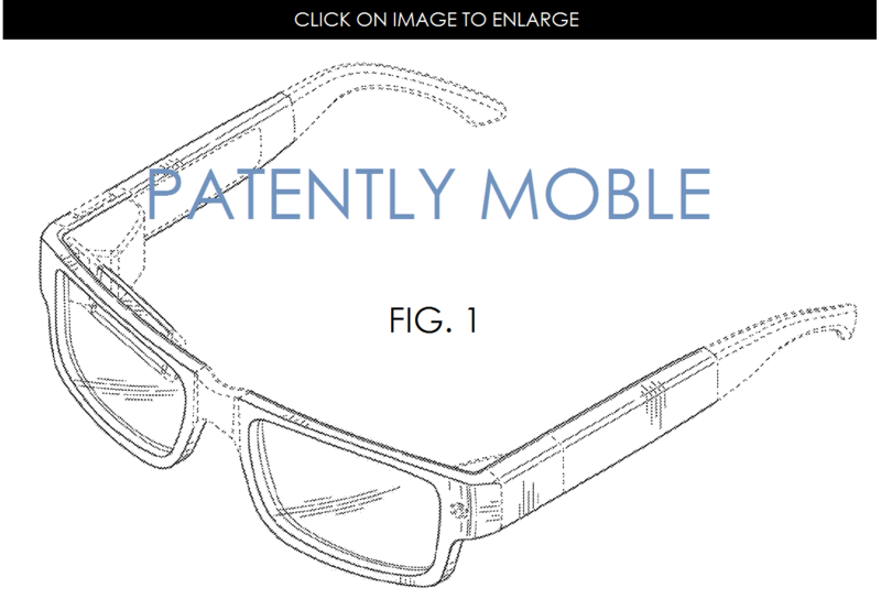 5AF2 GOOGLE GLASS, NEW TRADITIONAL DESIGN PATENT GRANTED FIG. 1