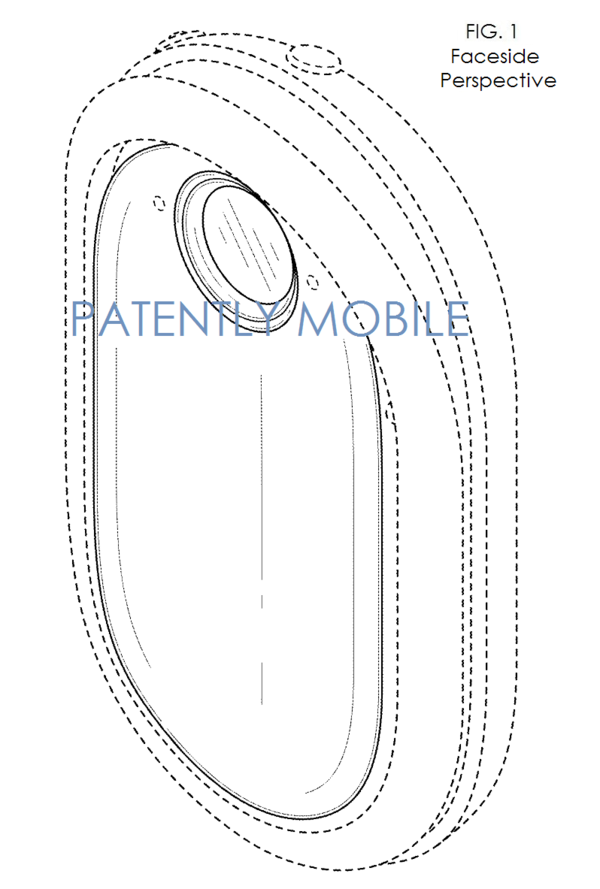 microsoft wins a design patent for a wearable camera while