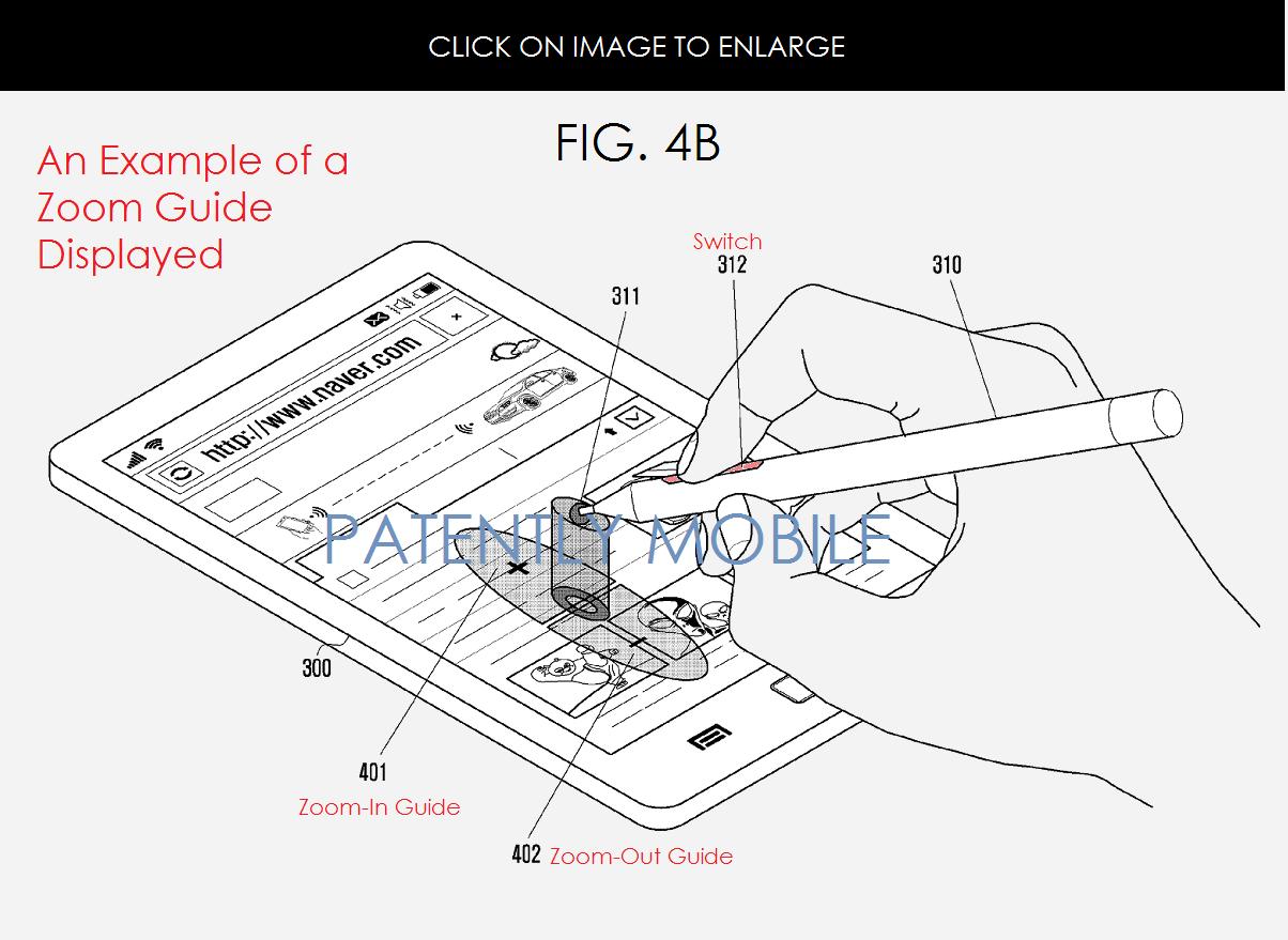Samsung Invents an S-Pen Feature that Uniquely Controls