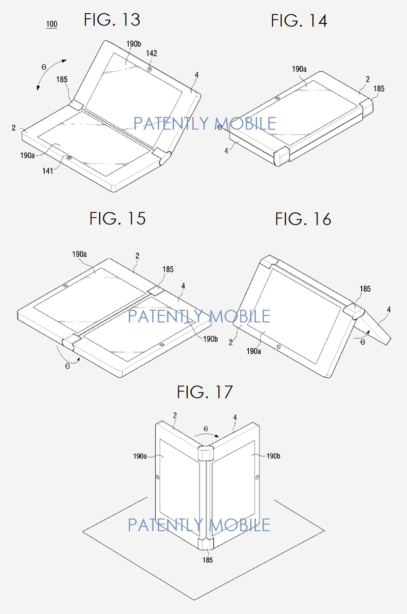 6AF 88 - SAMSUNG DUAL DISPLAY SYSTEM - VARIOUS ANGLES AND BENDABLE POSITIONS