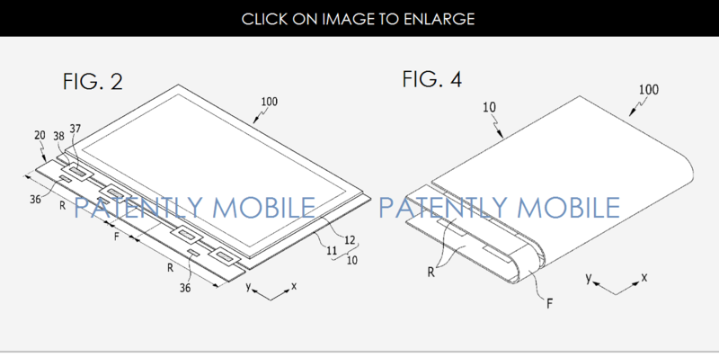 2AF SAMSUNG GRANTED PATENT FOR FLEX DISPLAY OVER 8 INCHES