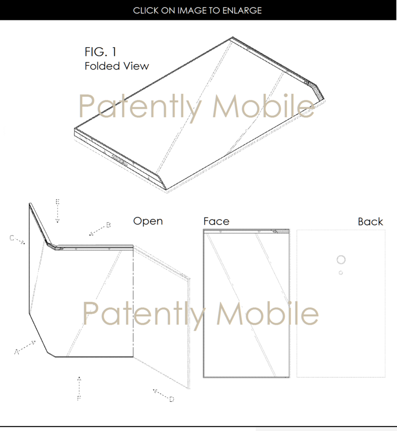 2AF PATENTLY MOBILE - 88 SAMSUNG FOLDING SMARTPHONE