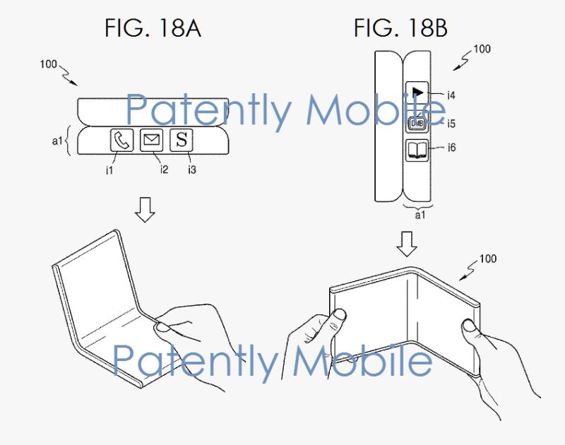 6af 55 samsung foldable phone