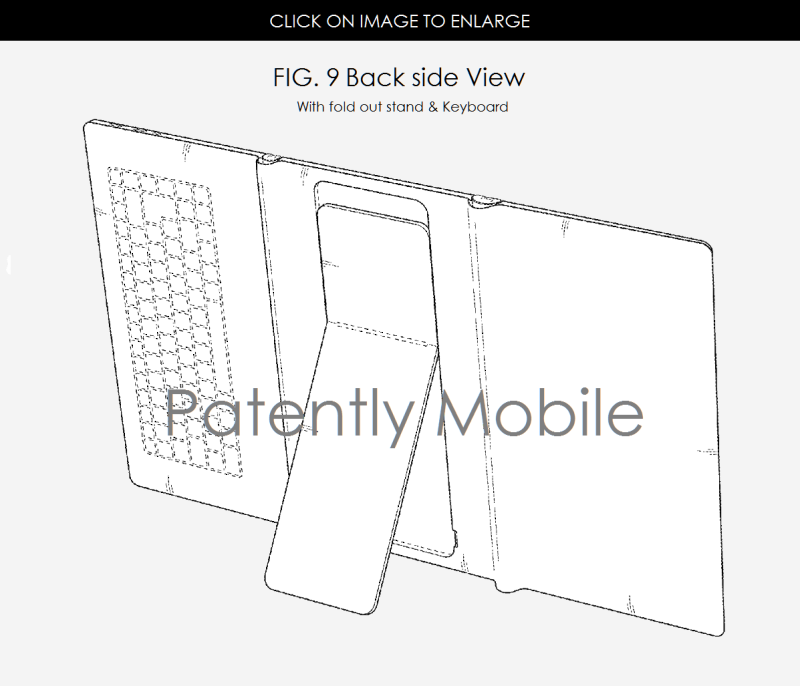 3af foldable tablet design patent from Samsung