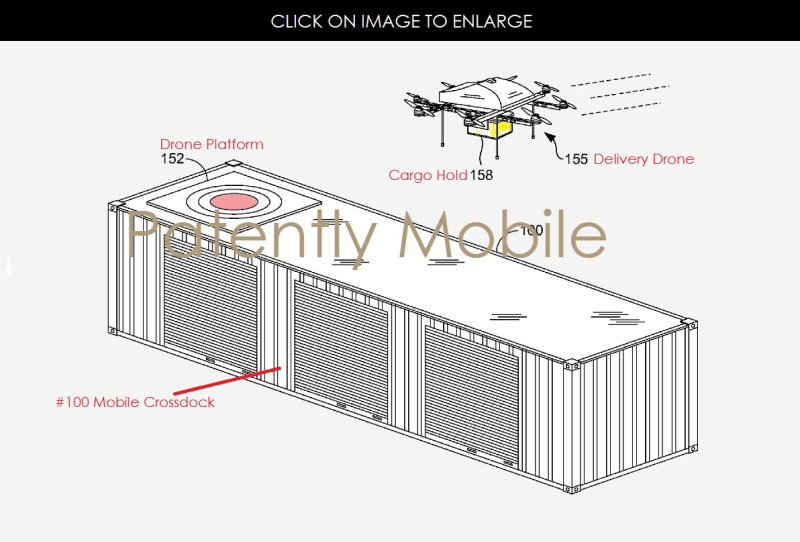 2 AX 99 - dock for Delivery Drones