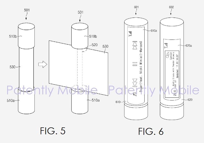 5af samsung patent figures 5 and 6