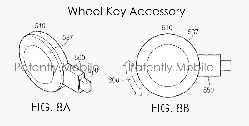6XX L8888 WHEEL KEY ACCESSORY - SAMSUNG ACCESSORY GEAR VR - PATENTLY MOBILE - JUNE 2017