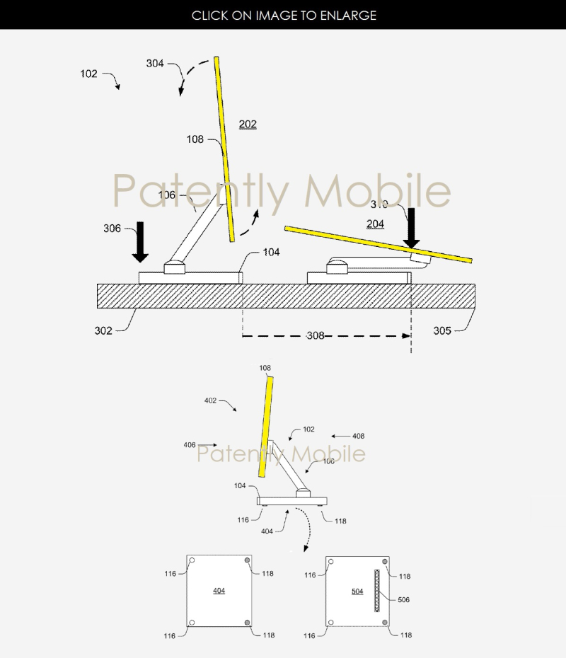 2AF X SURFACE STUDIO GRANTED PATENT
