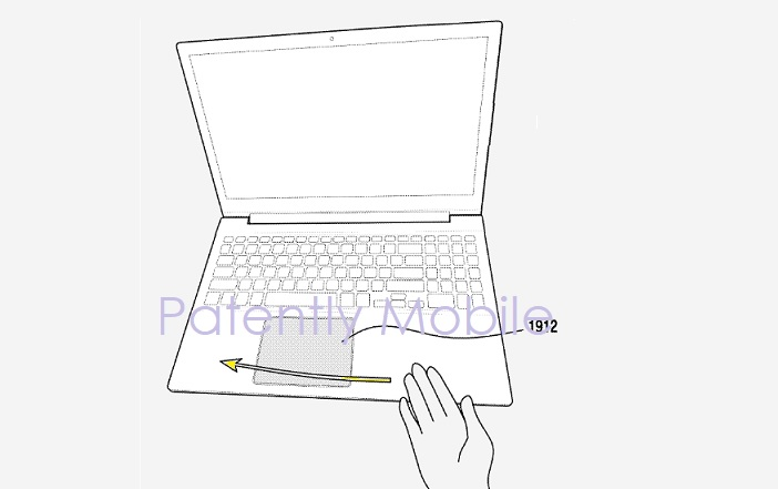 1 COVER SAMSUNG IN-AIR GESTURING NOTEBOOK PAD