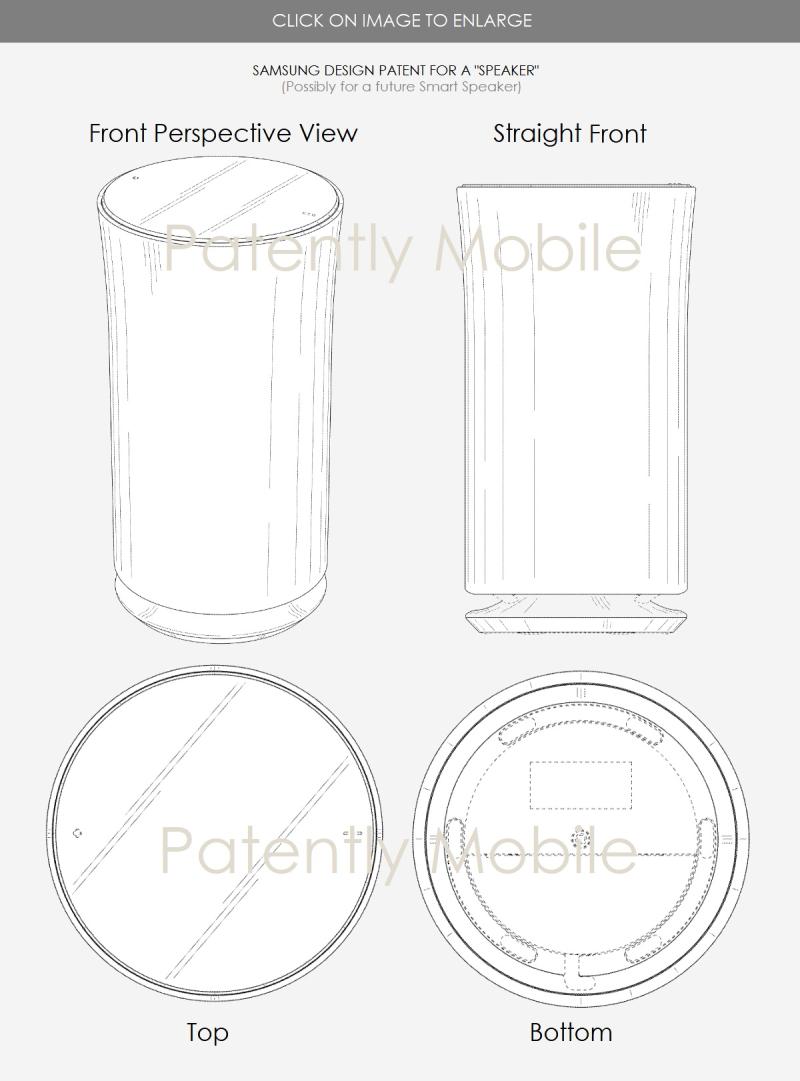 3  samsung speaker design  patent