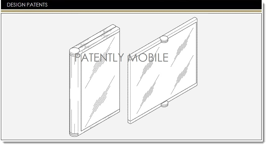 Samsung Wins 3 Design Patents for the Foldable Smartphone