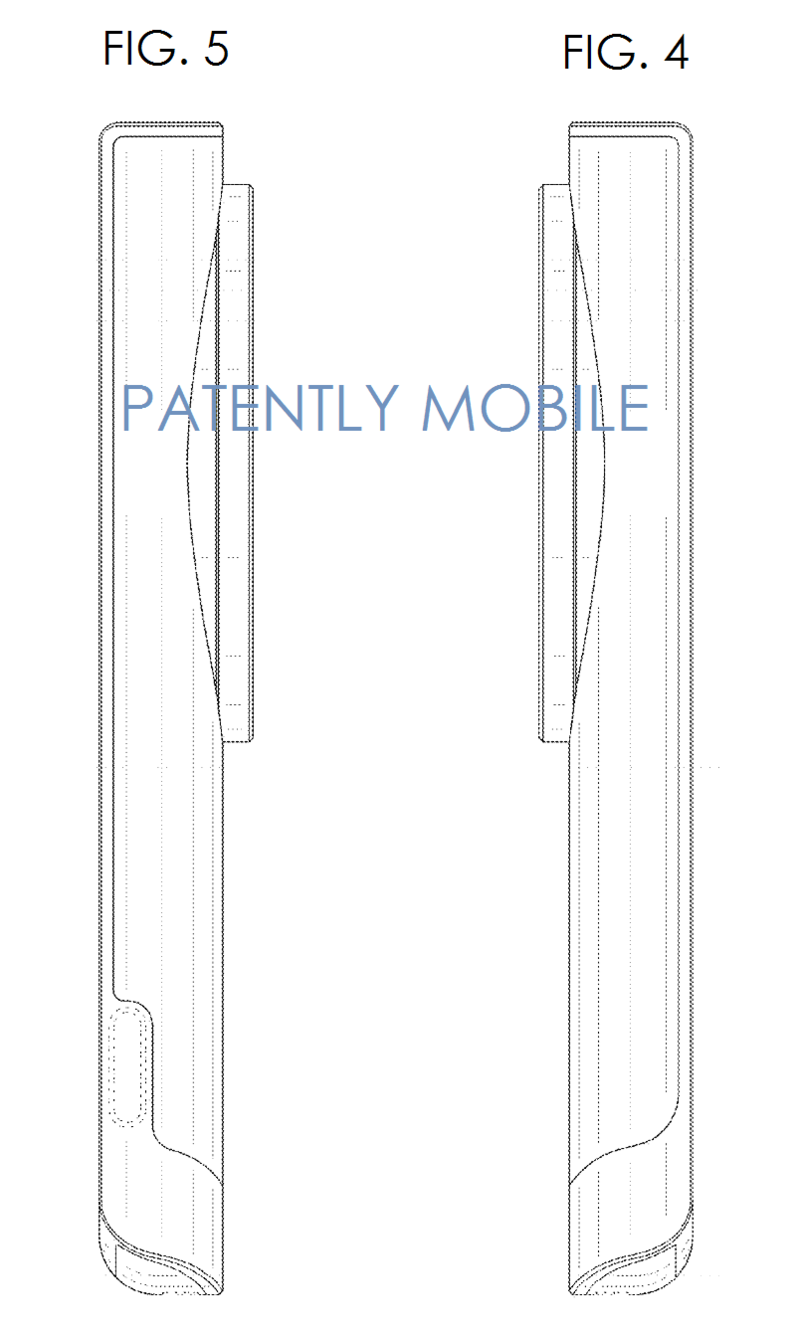 4.1 SIDE VIEWS OF SAMSUNG ZOOM PHONE DESIGN PATENT