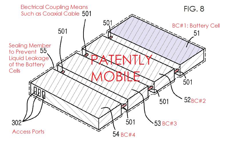 5AF 2 PATENTLY MOBILE REPORT - SAMSUNG FLEX PHONE FIG. 8