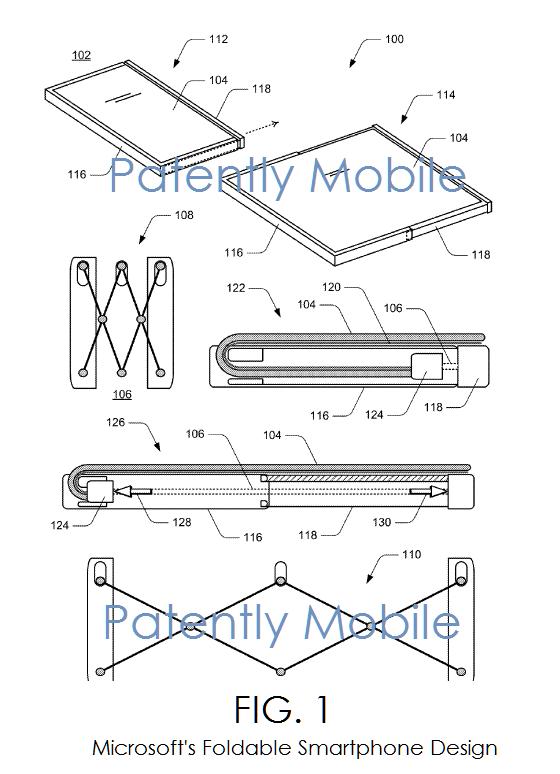 4af PM msft folding smartphone