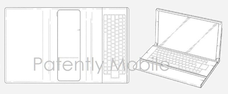 1AF 99 COVER - SAMSUNG DESIGN PATENT, FOLDABLE TABLET GRANTED BY USPTO